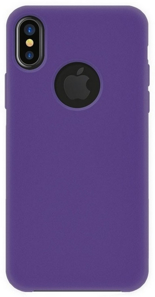 4-ok silk cover apple iphone x, violet