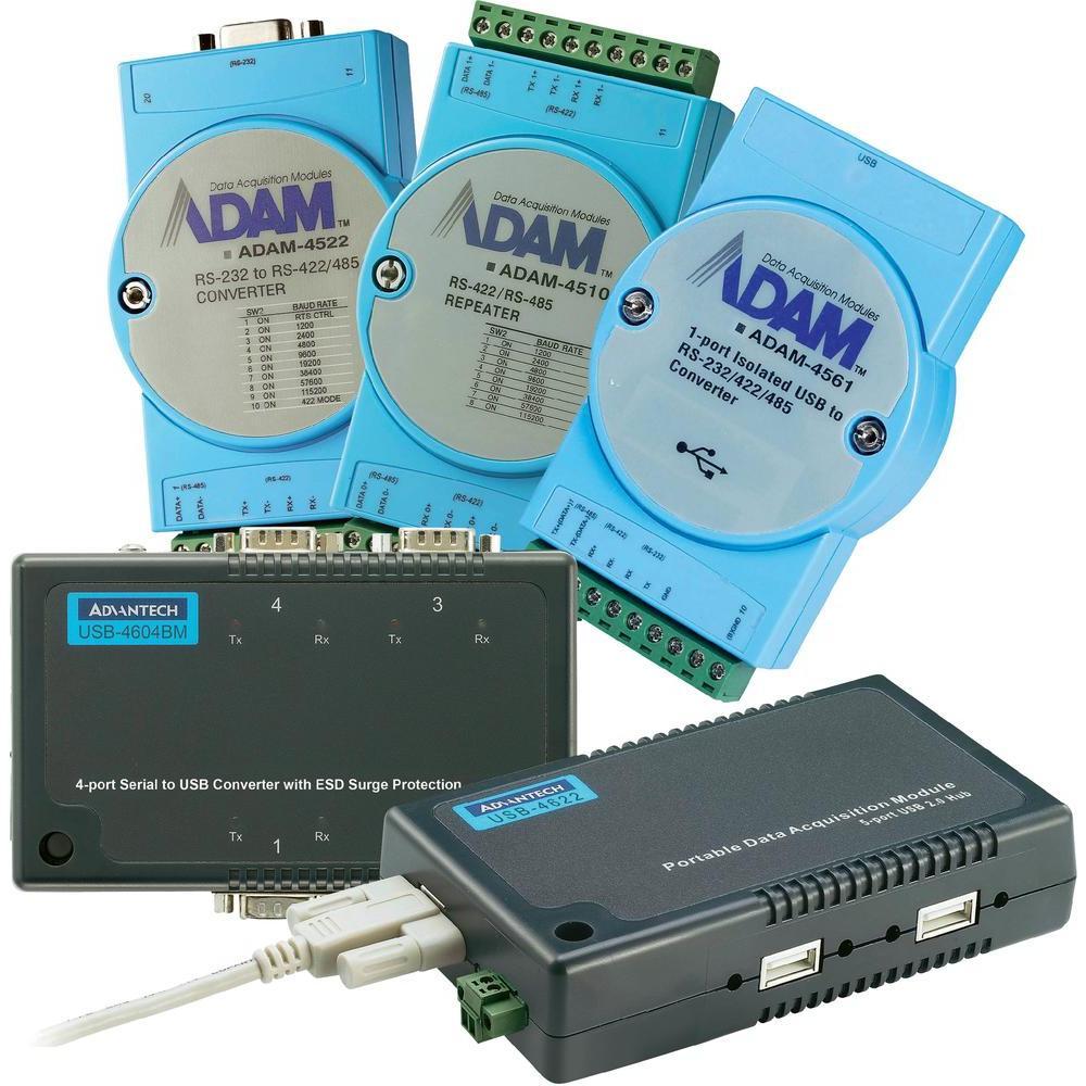 Adam-4562 usb to rs232 ec4p- 222-mtxx1
