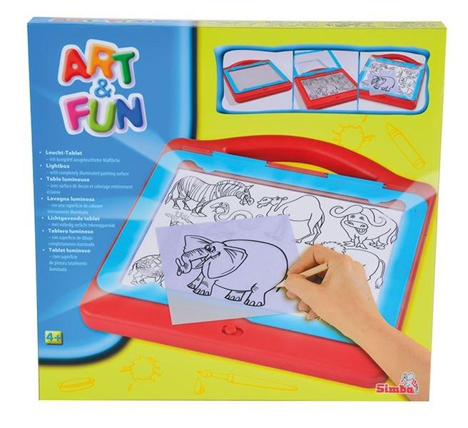 Simba Af kreslící tabulka světelná 200-250