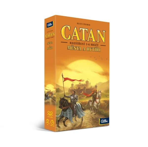Albi catan osadníci z katanu - města a rytíři (rozšíření 5-6 hráčů)
