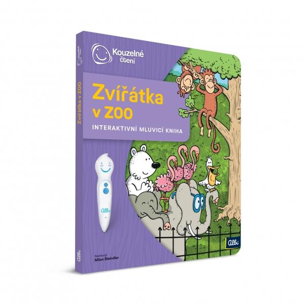 Albi kouzelné čtení - kniha zvířátka v zoo
