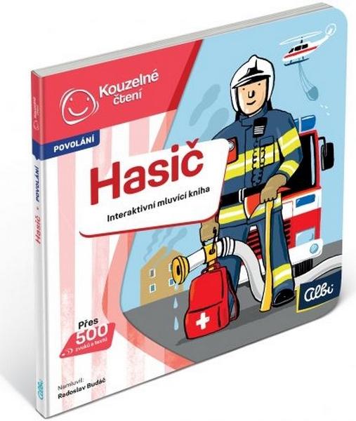 Albi kouzelné čtení - minikniha povolání - hasič