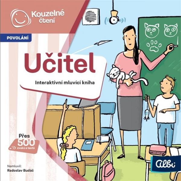 Albi kouzelné čtení - minikniha povolání - učitel
