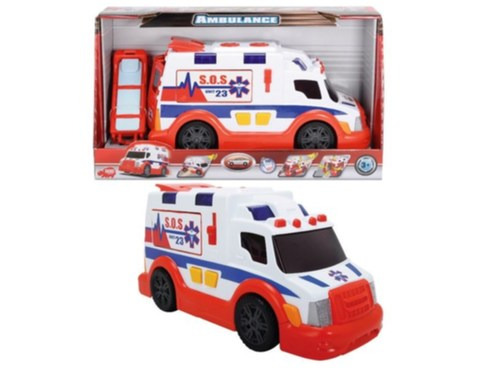 AS Ambulance 33cm, světlo, zvuk