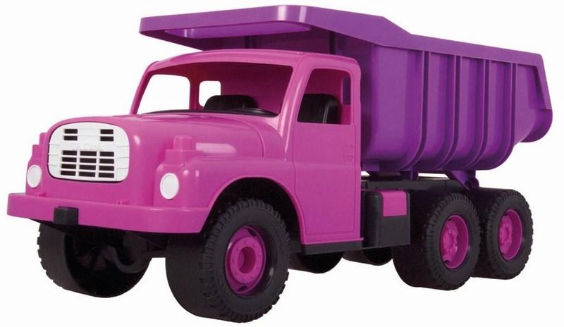 Auto tatra t 148 plast 73 cm - růžová