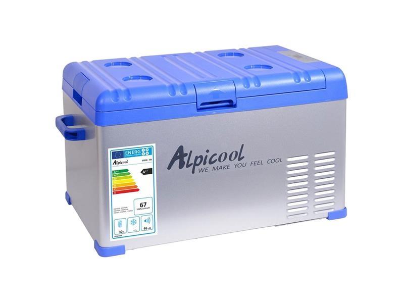 Autochladnička compass alpicool 30l, 230/24/12v -20°c kompresorová