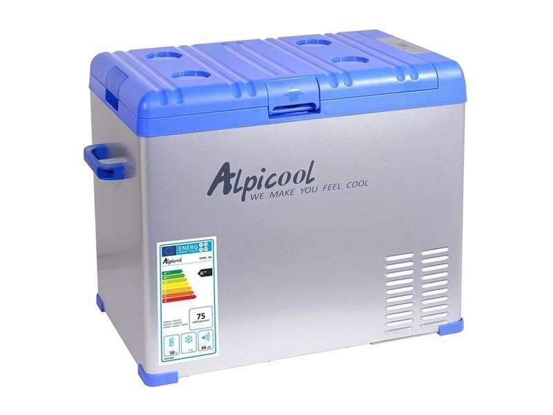 Autochladnička compass alpicool 50l, 230/24/12v -20°c kompresorová