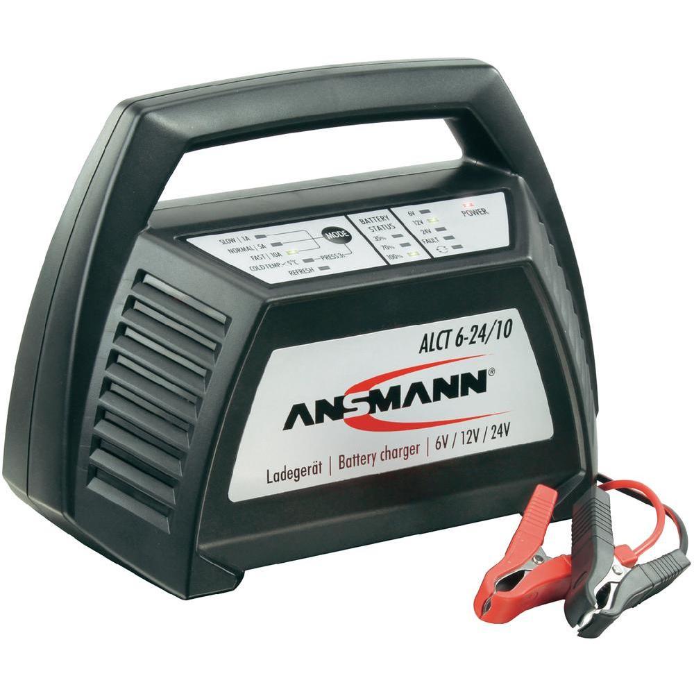 Automatická nabíječka akumulátoru ansmann alct 6-24 /10, 1/5/10 a