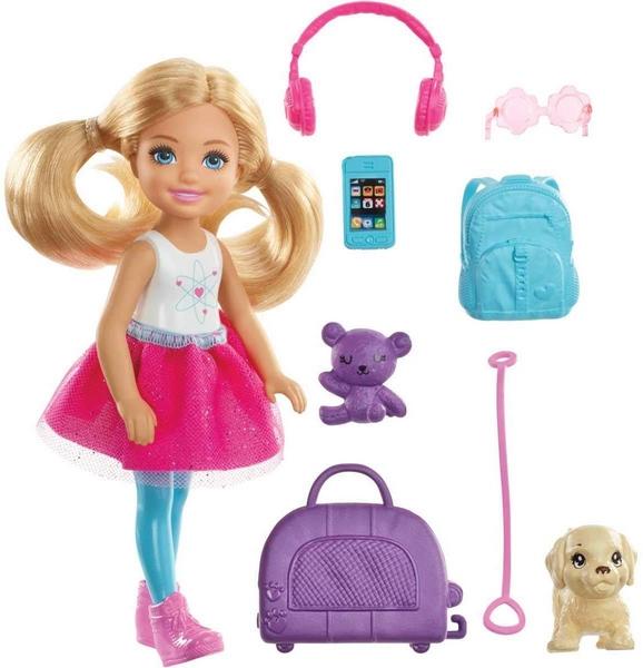 Barbie chelsea cestovatelka
