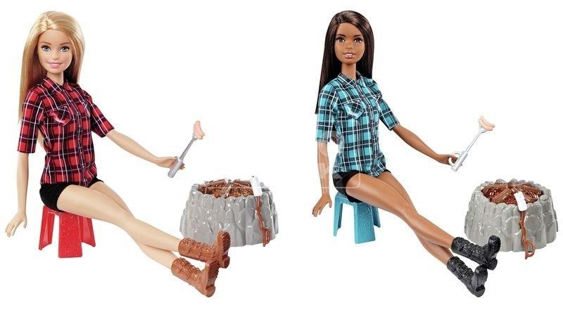 Barbie panenka u táboráku