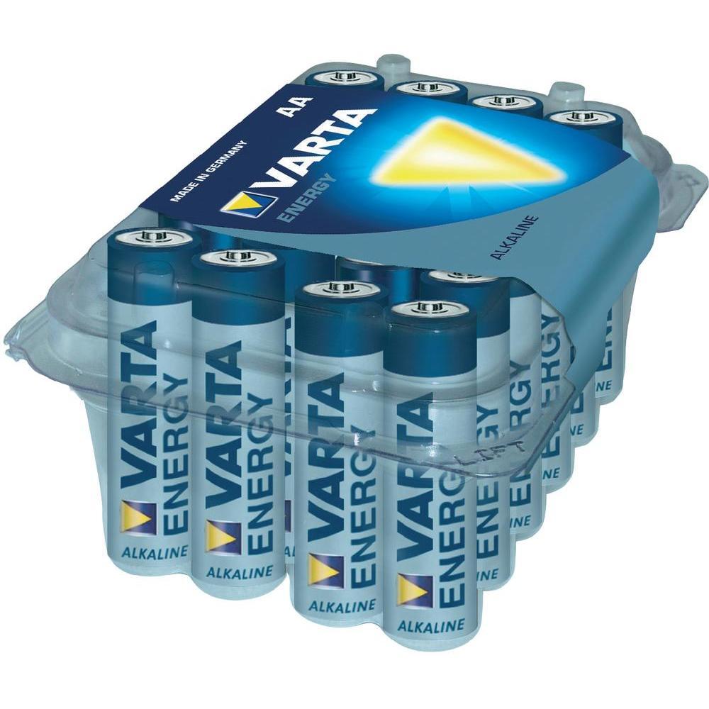 Baterie alkalická varta, typ aa, sada 24 ks
