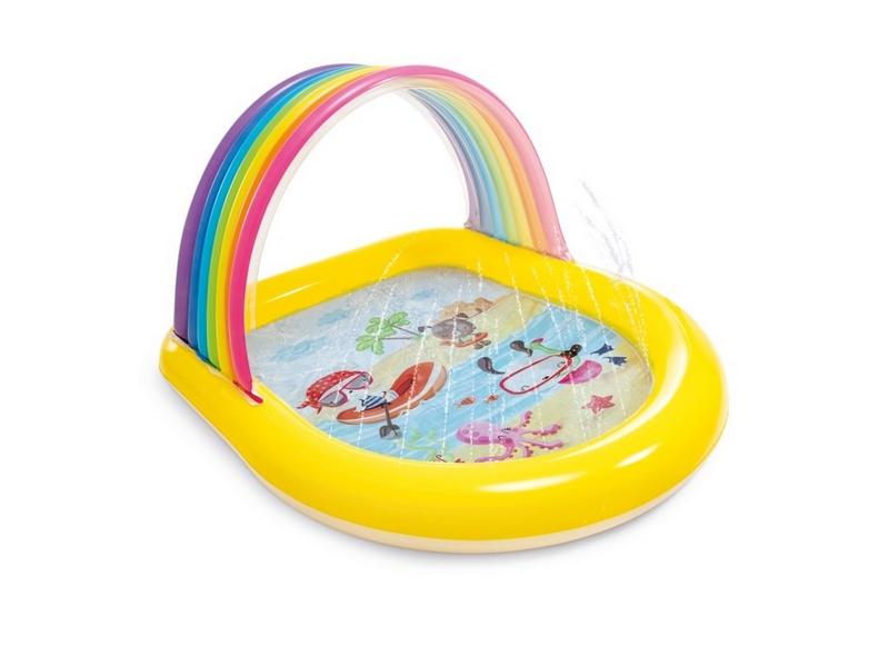 Bazén dětský s rozastřikováním