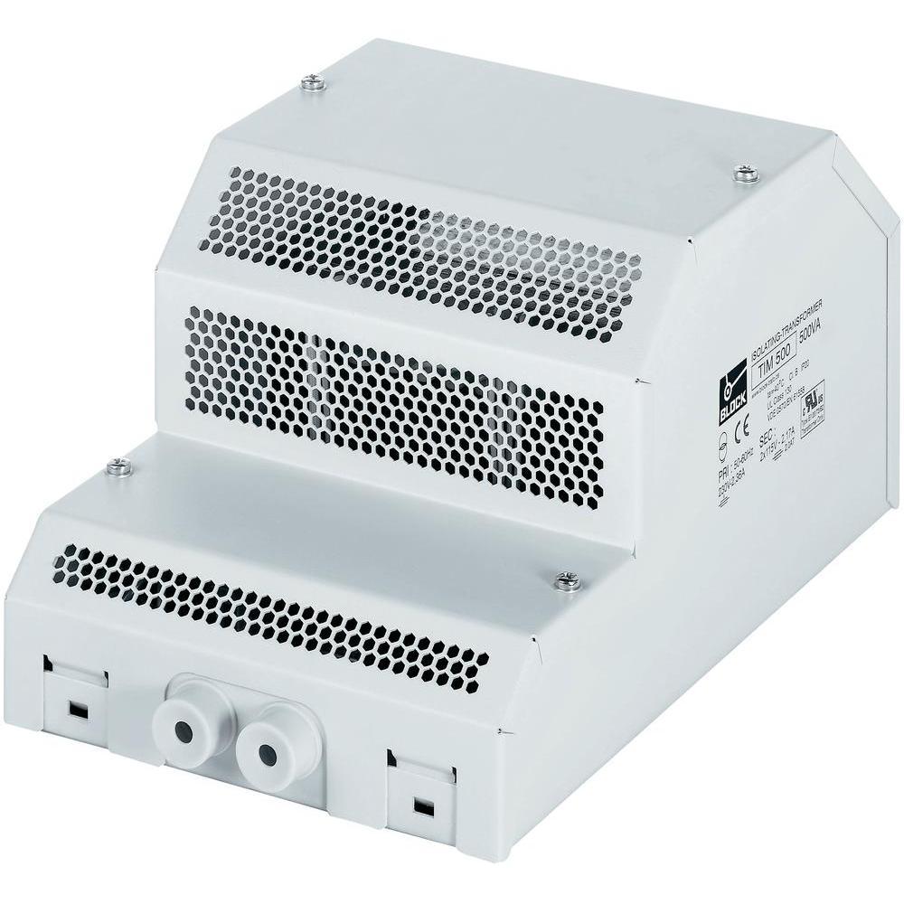 Bezpečnostní transformátor block 2x115 v, 100 va