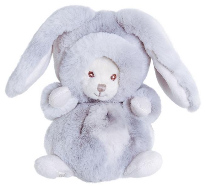 Bk ziggy winter rabbit (15cm) zajíc šedý