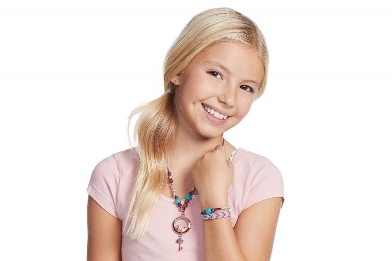 Bontempi náramky a náhrdelník, medailonek