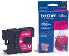 Brother LC-980M - inkoust magenta