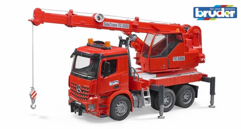 Bruder 3670 nákladní auto mercedes benz autojeřáb