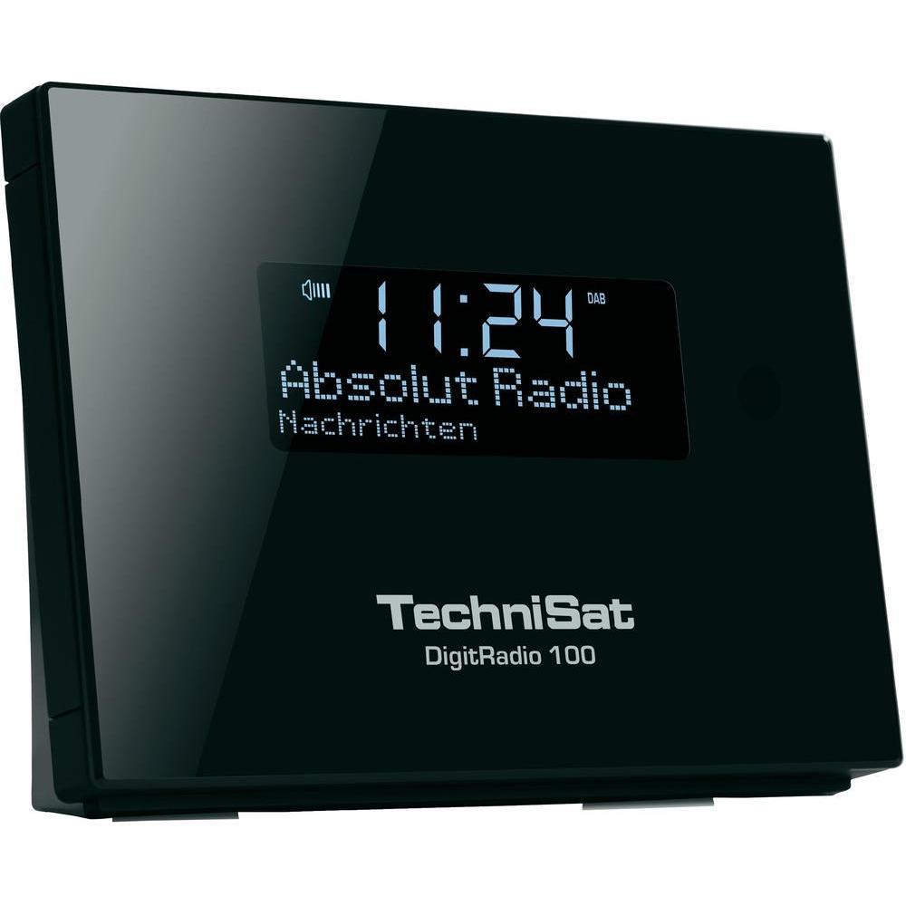 Dab+ rádio s line výstupem technisat digitradio 100, fm,černá