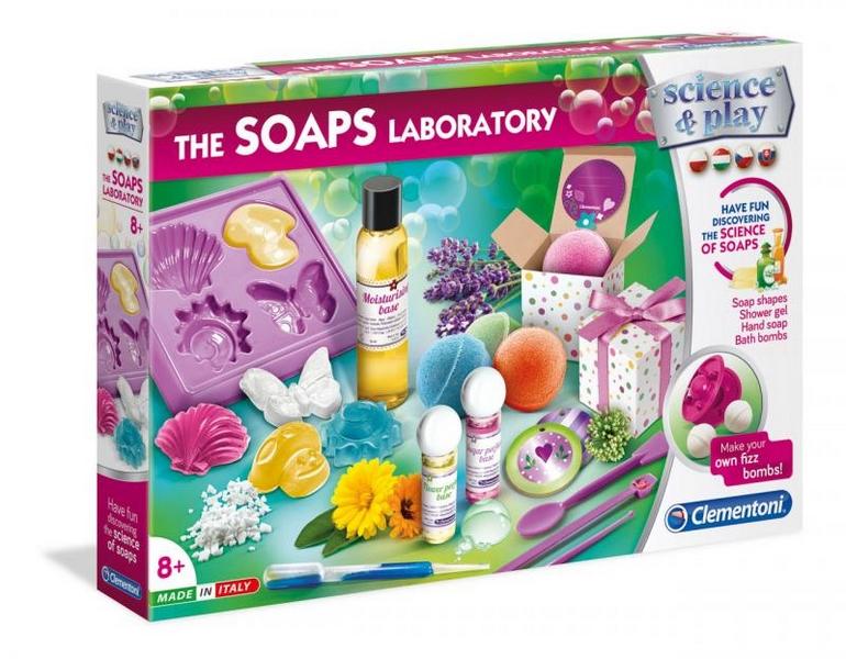 Dětská laboratoř - výroba mýdel