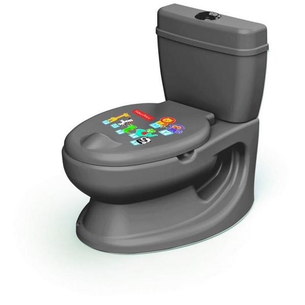 Dětská toaleta fisher price, šedá