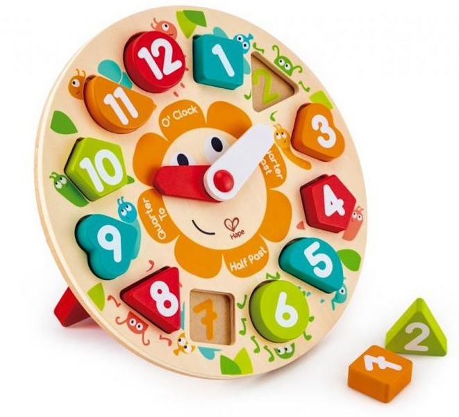 Dětské puzzle hodiny