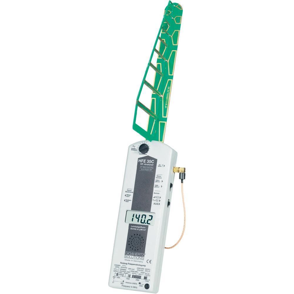 Digitální analyzátor elektrosmogu ubb hfe35c