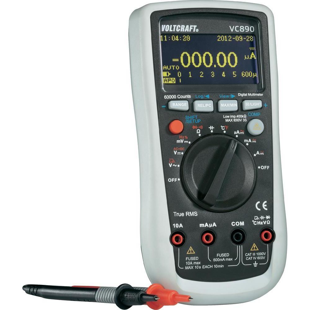 Digitální multimetr oled voltcraft vc-890 (kalibrovaný)