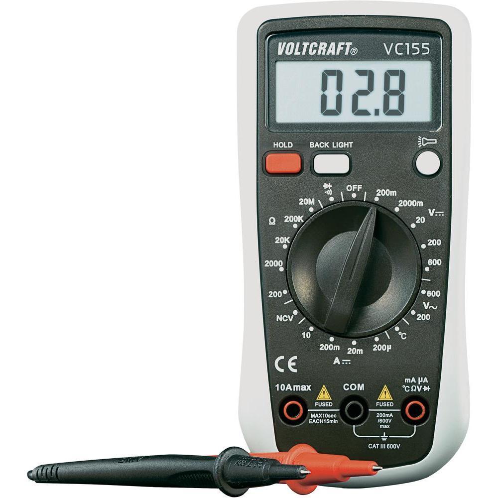 Digitální multimetr voltcraft vc-155 (kalibrovaný)