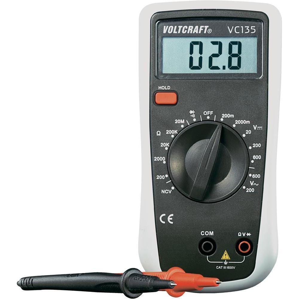 Digitální multimetr voltcraft vc135