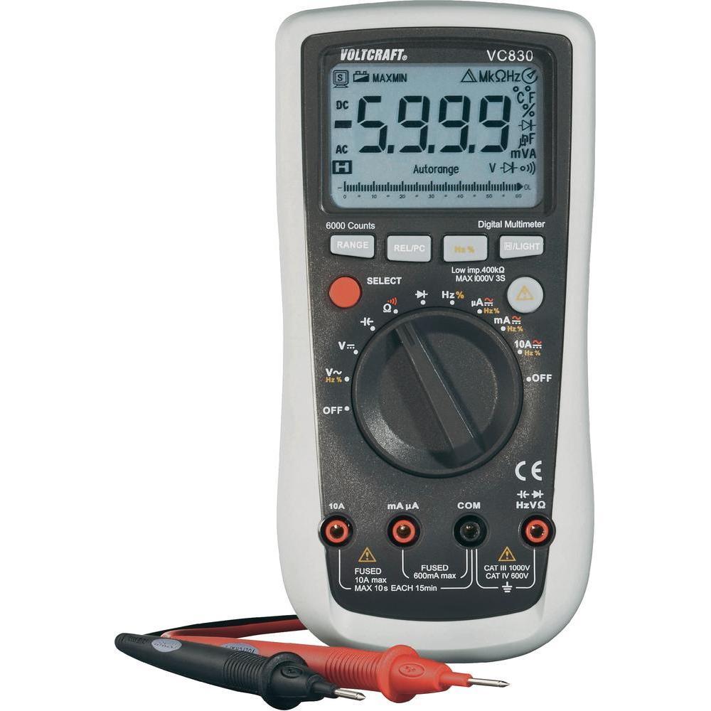 Digitální multimetr voltcraft vc830