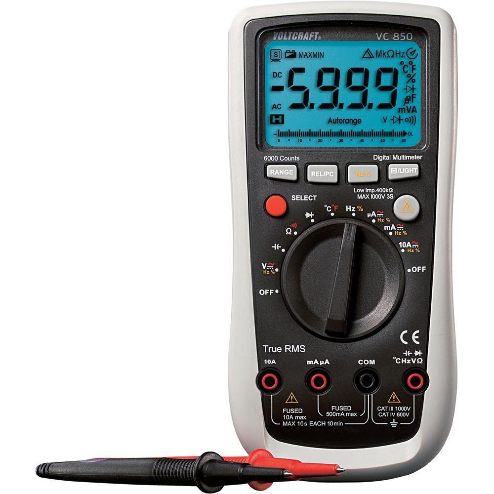 Digitální multimetr voltcraft vc850