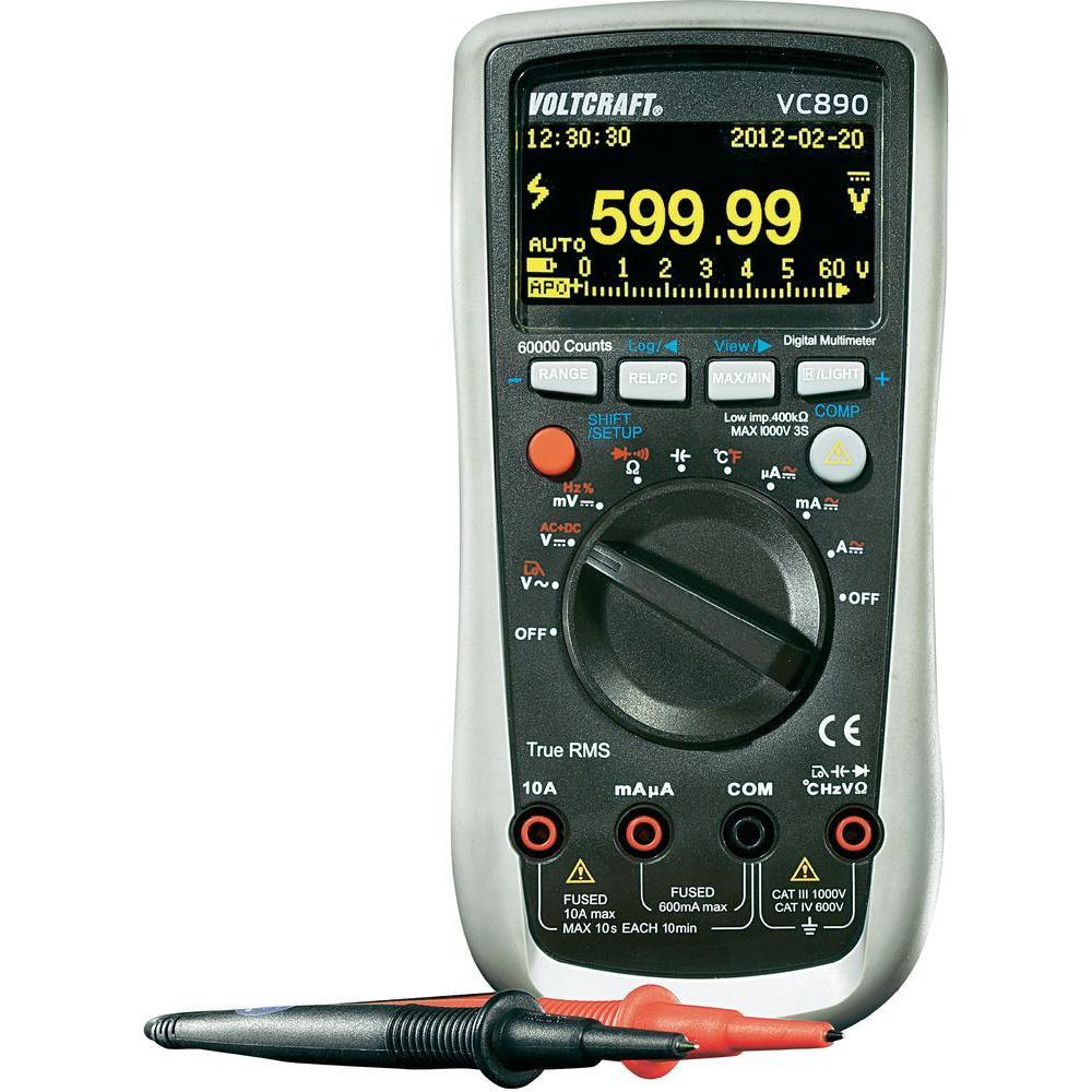 Digitální oled multimetr voltcraft vc890
