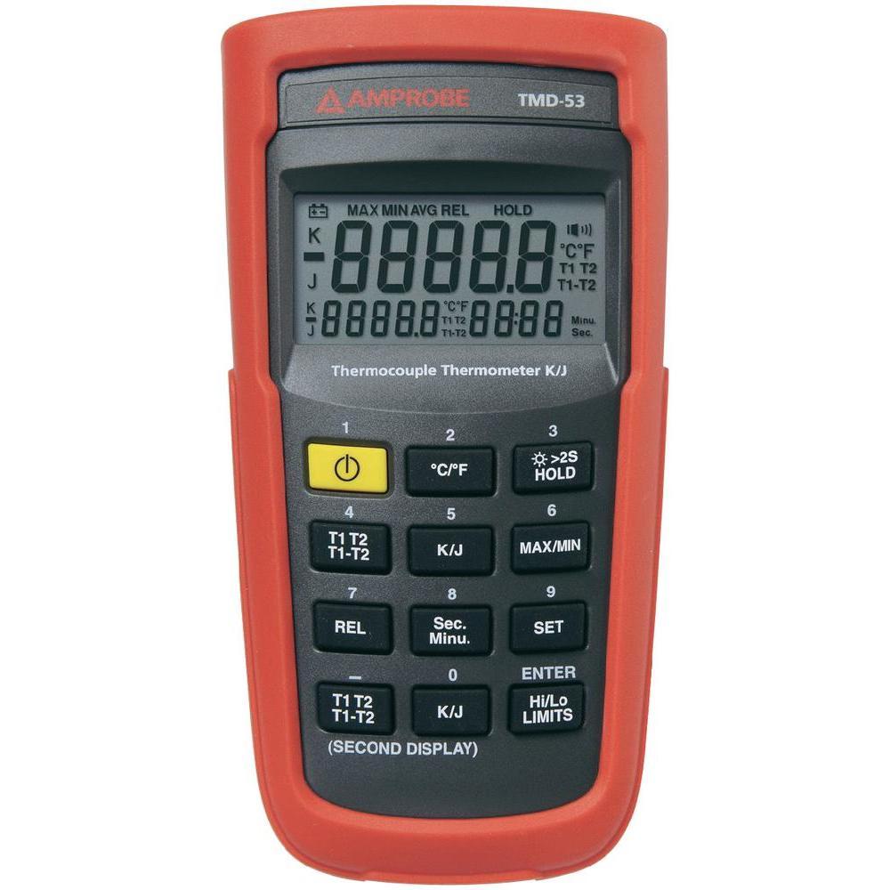 Digitální termometr beha amprobe tmd-53, typ-k -180 až 1350 °c