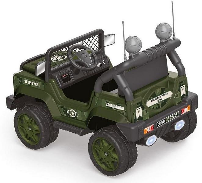 Elektrické auto pro děti commando,mp3, 12v