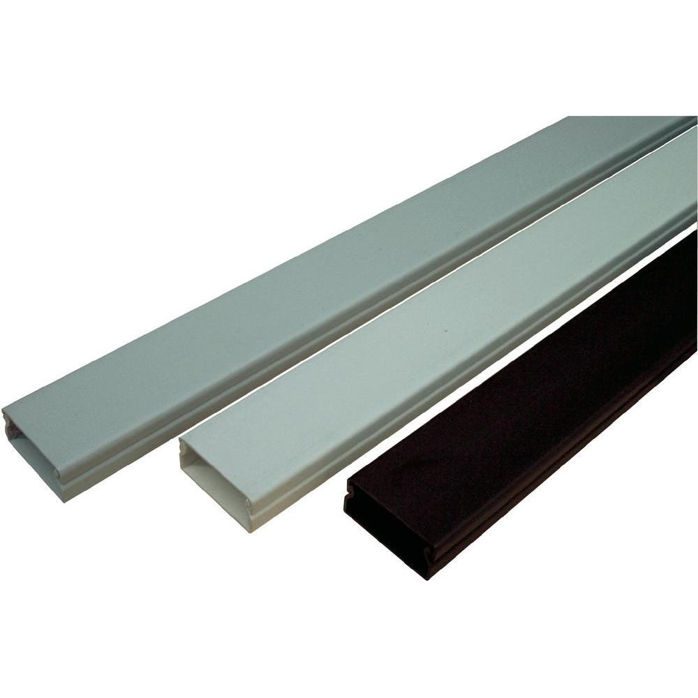Elektroinstalační lišta 15x40 mm 2 m s krytem šedá