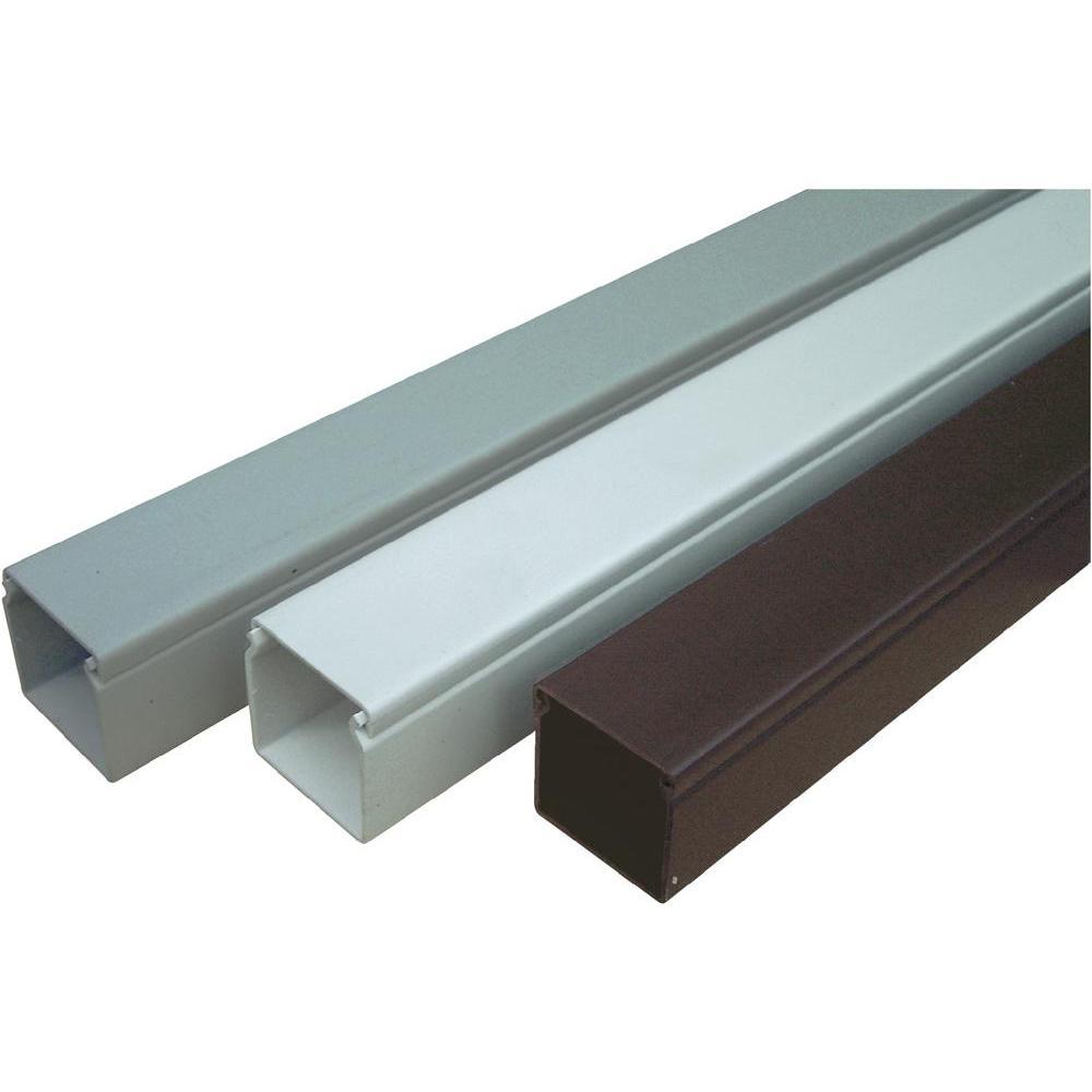 Elektroinstalační lišta 40x40 mm 2 m s krytem bílá