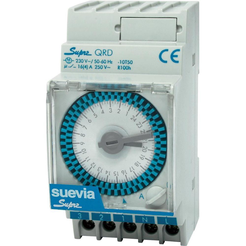 Elektromechanické spínací hodiny supra qrd