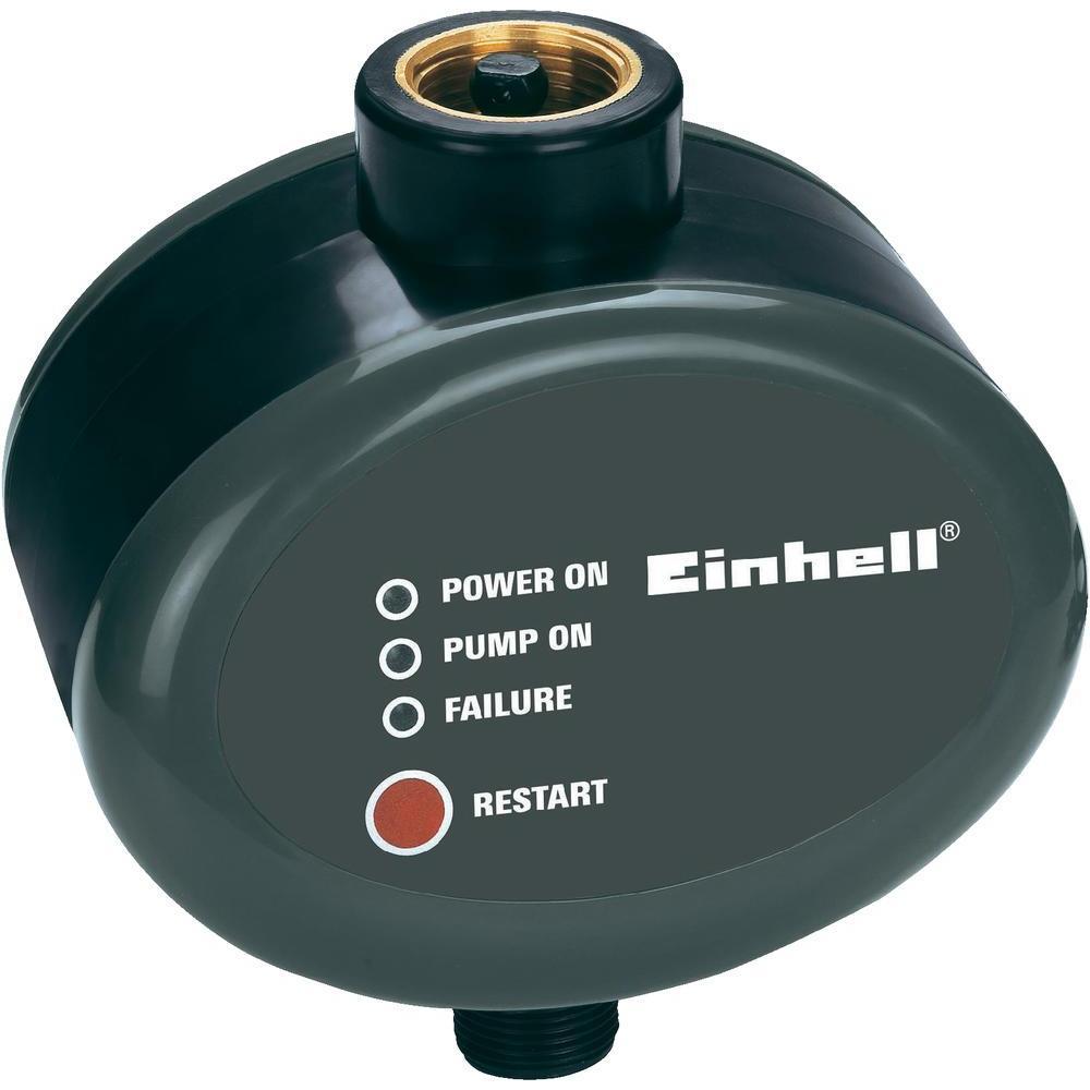Elektronický průtokový spínač einhell 4174221, černá