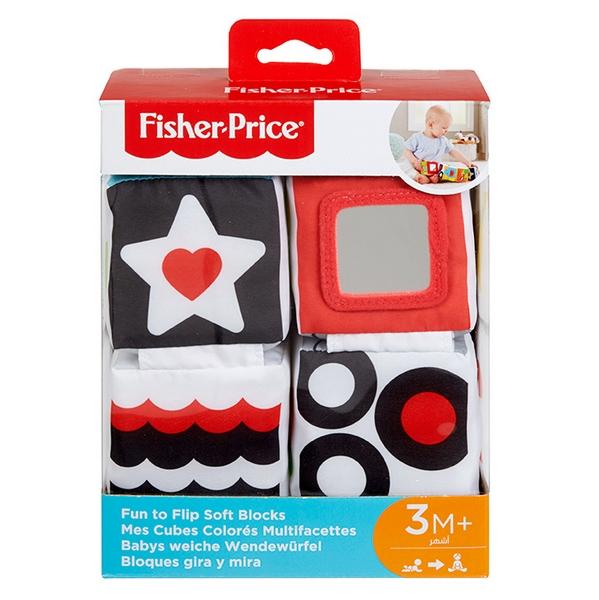Fisher price naučné měkké kostky
