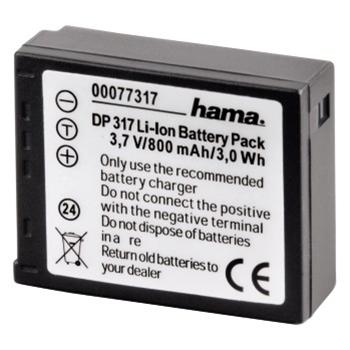 Fotoakumulátor li-ion 3,7v/800mah, panasonic cga-s007e