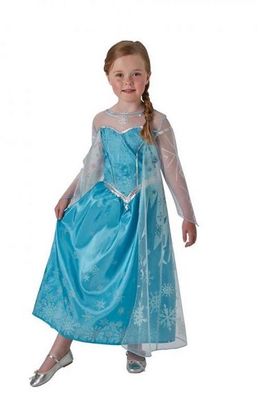 Frozen: elsa ledová královna - deluxe kostým - vel. S