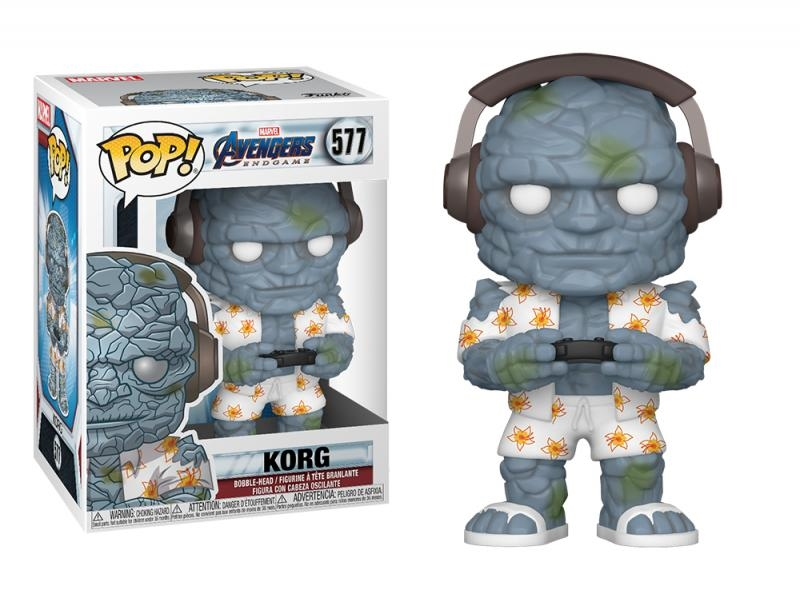 Funko pop marvel: endgame - gamer korg