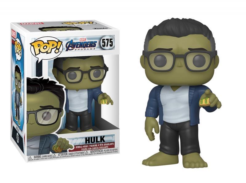 Funko pop marvel: endgame - hulk w/taco