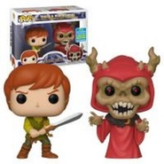 Funko POP The Black Cauldron - Taran & Horned King