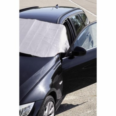 Hama Automotive Ice/Sun Shade for the Windscreen, 200 x 80 cm, silver