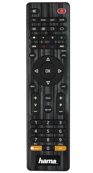 Hama univerzální dálkový ovladač 4v1, smart tv Hama