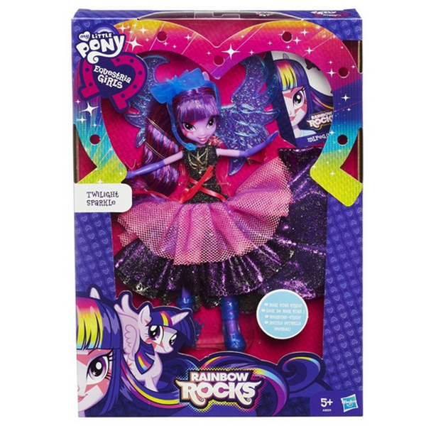 Hasbro my little pony equestria girls módní twilight sparkle