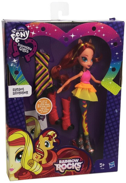 Hasbro my little pony equestria girls panenka s módními doplňky