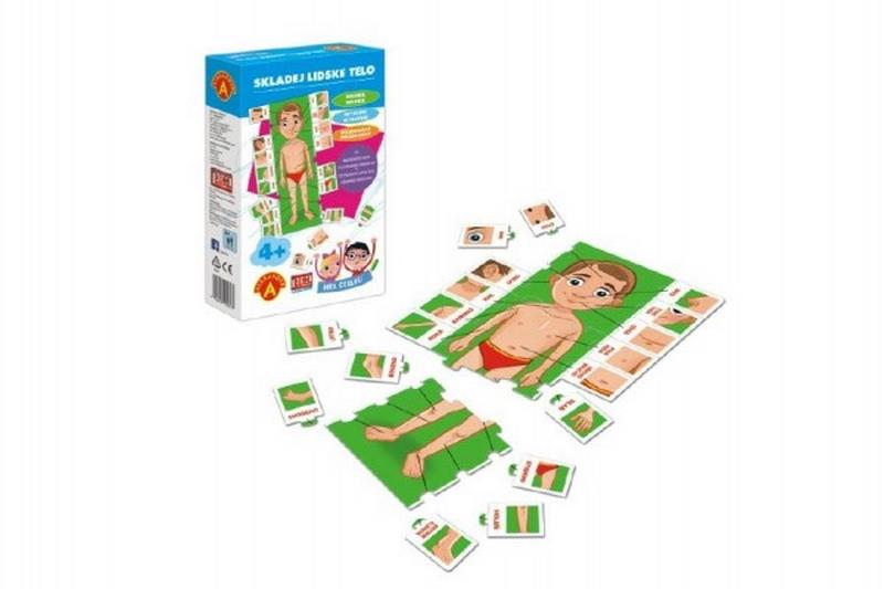 Hra školou® skládej lidské tělo kreativní a naučná hra v krabici…