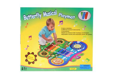 Hrací koberec piáno